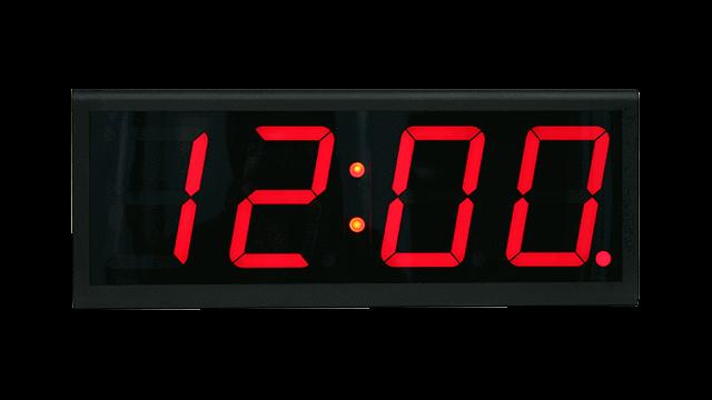 ساعة حائط متصلة بالإنترنت