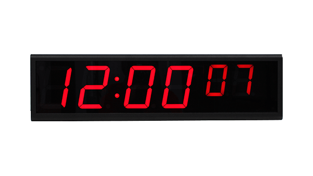 NTP ساعة رقمية