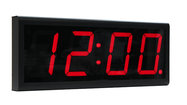 بو ساعة رقمية